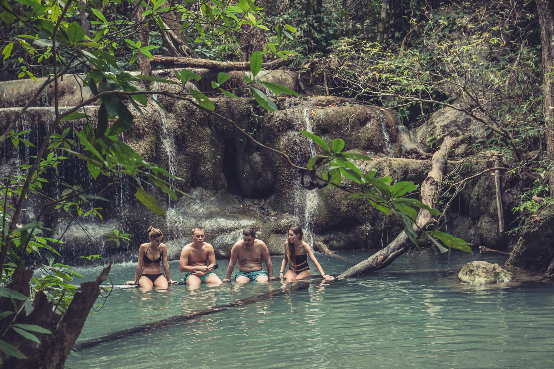 Erawan Nationaal Park: watervallen x7