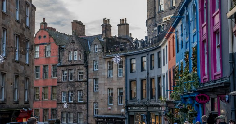 Edinburgh: de ideale stad voor Harry Potter fans
