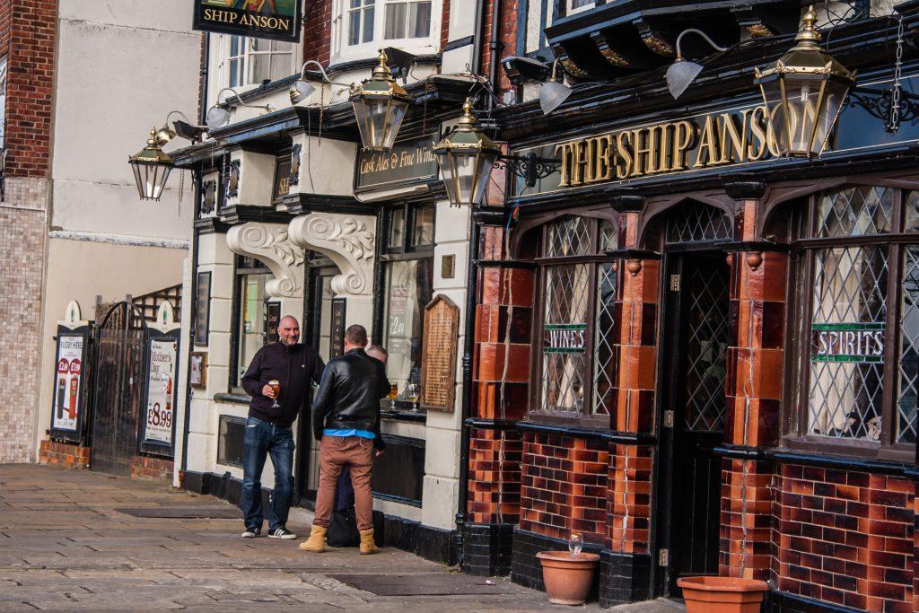 Gezellige pub in Weymouth