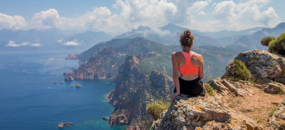 Capo Rosso: het mooiste uitzicht in Corsica