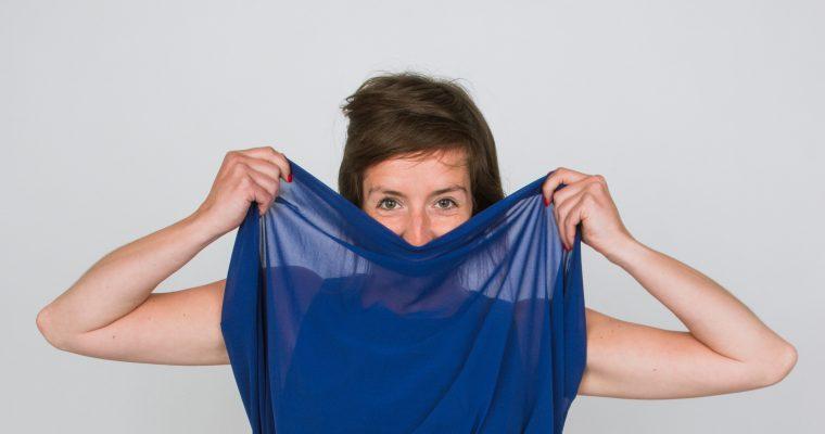 OOW #4: Feeërieke blauwe jurk